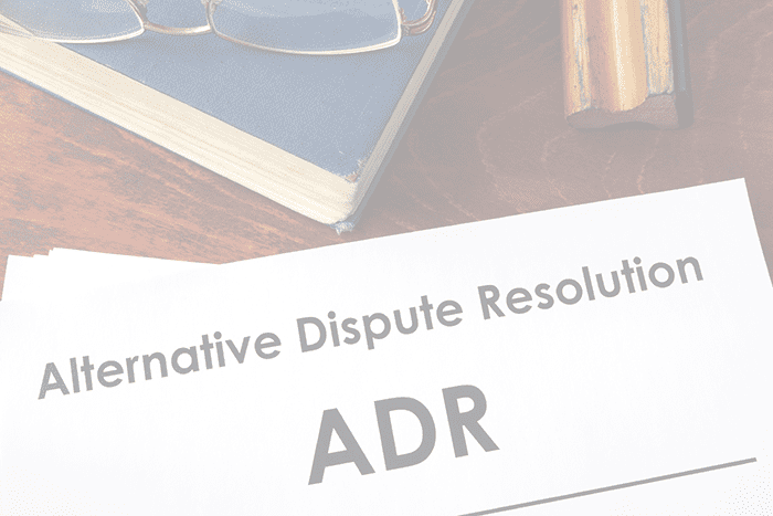 ALTERNATIVE DISPUTE RESOLUTION (ADR), Krongold Law Corp,